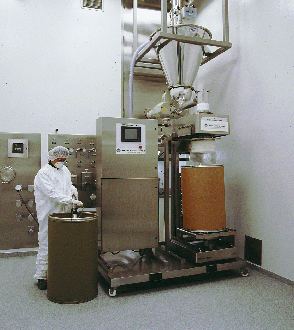 Stott Hygienic Filling Amp Weighing System Containment