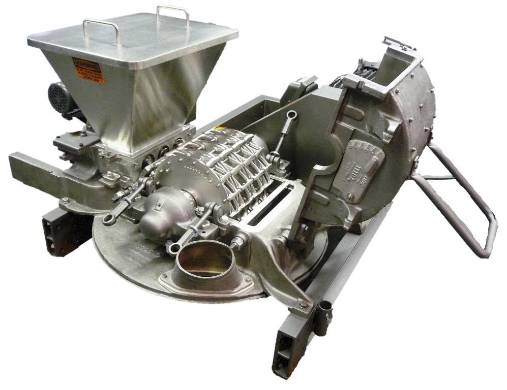 Mikro Pulverizer 174 Hammer Amp Screen Mill Hosokawa Micron