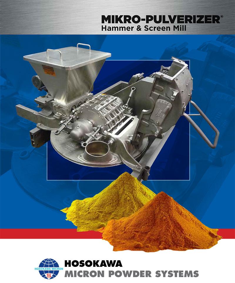 Mikro-Pulverizer Hammer Mill