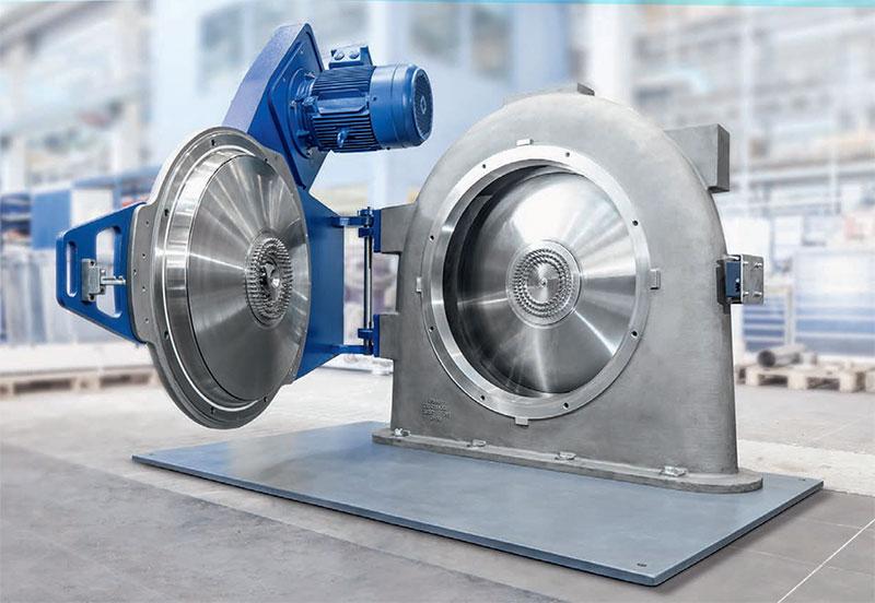 Fine impact mill: contraplex (CW)