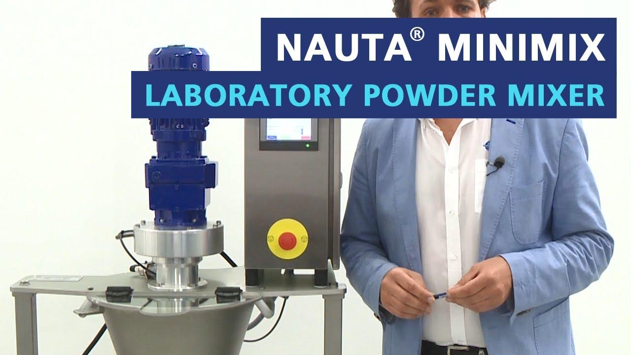 Mini Cyclomix laboratory powder mixer