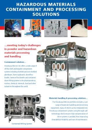 Hazardous Materials Containment and Proc