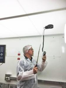 Measuring Downward Air Velocity