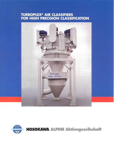 Alpine Turboplex Air Classifiers