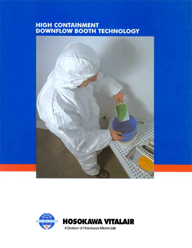 High Containment Down Flow Booth Technol