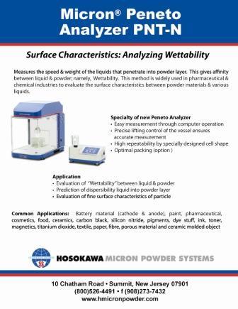 Micron® Peneto Analyzer PNT-N