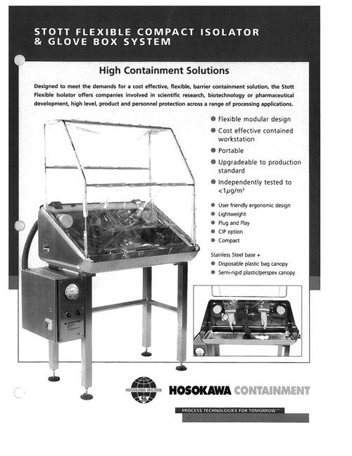 6.2  Stott Flexible Compact Isolator Glo