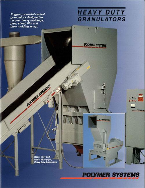 Heavy Duty Granulators