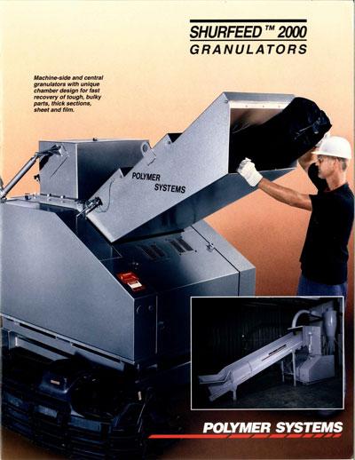Shurfeed Granulators